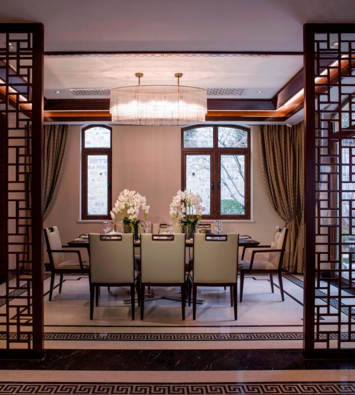 简约 欧式 田园 混搭 三居 别墅 收纳 旧房改造 二居 餐厅图片来自紫禁尚品国际装饰高晓媛在简单大气的新中式风格的分享