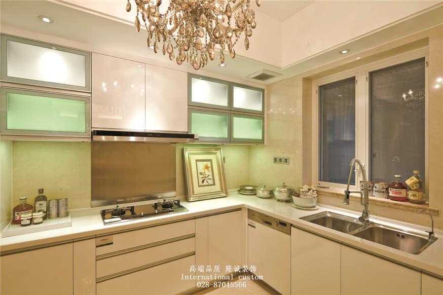 欧式 二居 白领 收纳 旧房改造 80后 小资 舒适 温馨 厨房图片来自fy1831303388在华润24城的分享