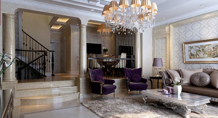 梵客家装 天津梵客 欧式 别墅 楼梯图片来自天津梵客家装Q在梵客家装-碧湖苑263平米-欧式的分享