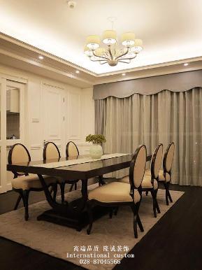 欧式 三居 白领 收纳 旧房改造 80后 小资 舒适 温馨 餐厅图片来自fy1831303388在华侨城的分享