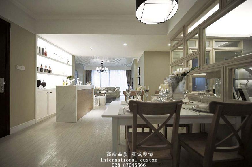 白领 收纳 旧房改造 80后 小资 美式 舒适 温馨 高富帅 餐厅图片来自fy1831303388在中铁奥维尔美式的分享
