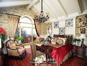 三居 白领 收纳 旧房改造 80后 小资 美式 舒适 温馨 卧室图片来自fy1831303388在8号公馆美式的分享