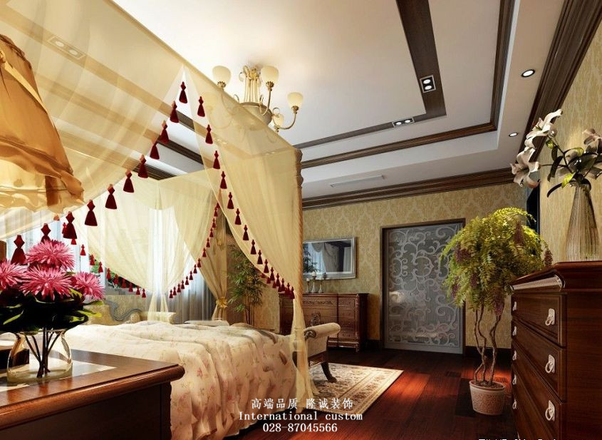 别墅 白领 收纳 旧房改造 80后 小资 舒适 温馨 卧室图片来自fy1831303388在渥嘉郡的分享