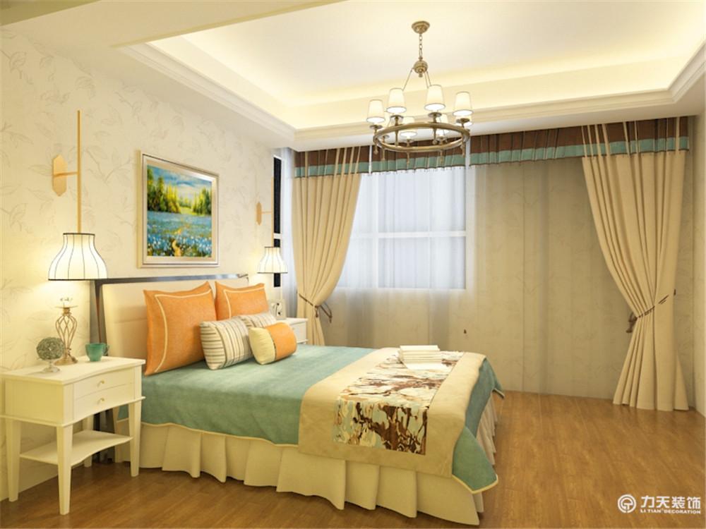 三居 白领 收纳 80后 小资 生态城 卧室图片来自阳光放扉er在力天装饰-生态城100.3㎡的分享