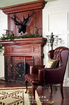三居 白领 收纳 旧房改造 80后 小资 美式 舒适 温馨 客厅图片来自fy1831303388在8号公馆美式的分享