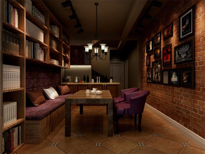 凤河孔雀城 混搭 书房图片来自业之峰装饰旗舰店在情迷欧罗巴的分享