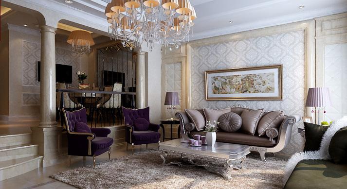 梵客家装 天津梵客 欧式 别墅 客厅图片来自天津梵客家装Q在梵客家装-碧湖苑263平米-欧式的分享
