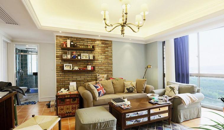 混搭 二居 客厅图片来自我爱我家装饰-郭15910402423在二居混搭的分享