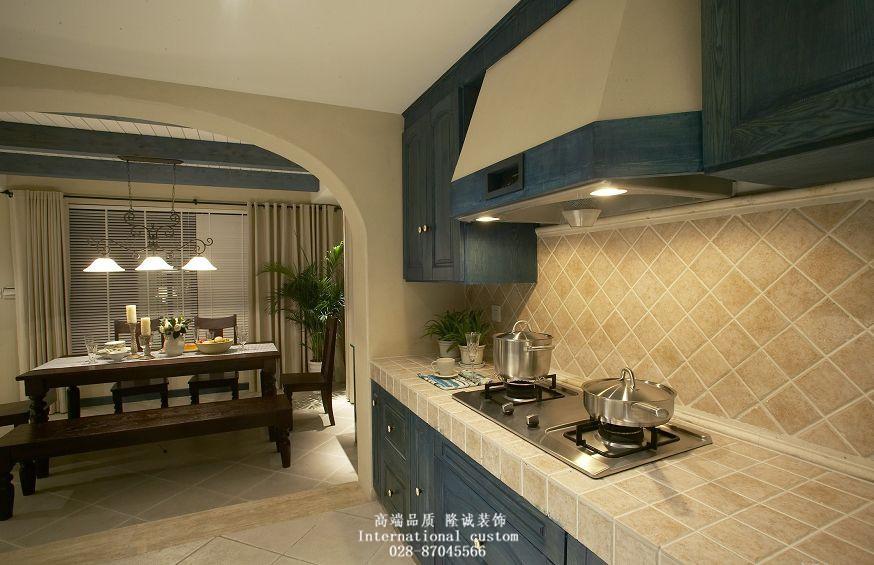三居 白领 收纳 旧房改造 80后 小资 地中海 舒适 温馨 厨房图片来自fy1831303388在金色海伦的分享