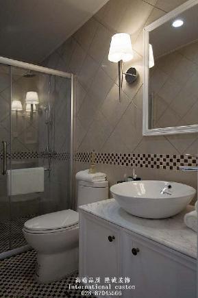 白领 收纳 旧房改造 80后 小资 美式 舒适 温馨 高富帅 卫生间图片来自fy1831303388在中铁奥维尔美式的分享