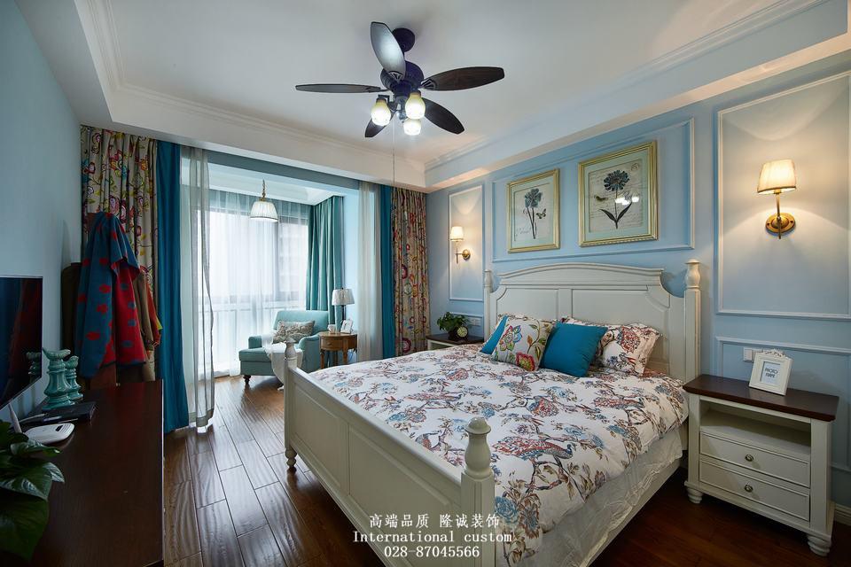 三居 白领 收纳 旧房改造 80后 小资 舒适 温馨 美式 卧室图片来自fy1831303388在爱汀府的分享
