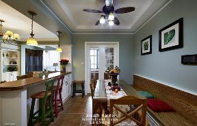 三居 白领 收纳 旧房改造 80后 小资 舒适 温馨 美式 餐厅图片来自fy1831303388在爱汀府的分享