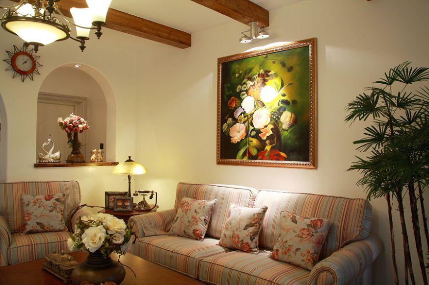 四居 舒适 温馨 白领 收纳 旧房改造 80后 小资 地中海 客厅图片来自fy1831303388在中信云栖谷的分享