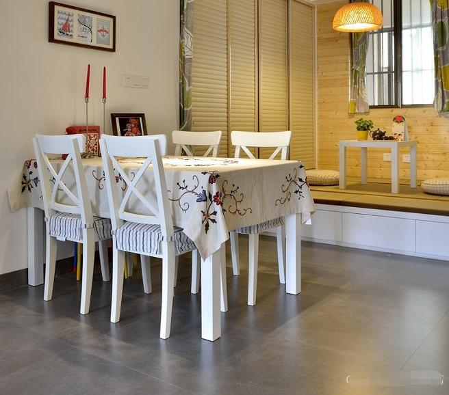 简约 二居 餐厅图片来自西安紫苹果装饰工程有限公司在曲江意境的分享