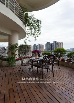 美式 自由 三居 白领 阳台图片来自九鼎建筑装饰工程有限公司成都分在天鹅湖160平美式自由风格的分享