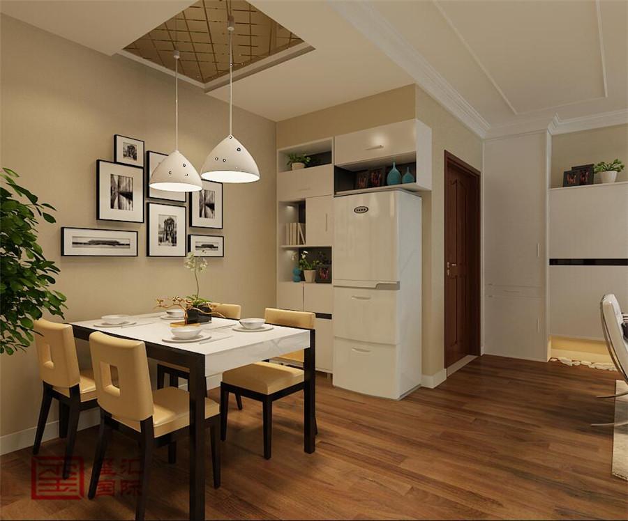 现代 两室 玺汇国际 餐厅图片来自河北玺汇国际装饰公司在众美凤凰台88平现代风格的分享