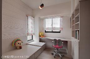 北欧 三居 收纳 简约 儿童房图片来自幸福空间在129平浪漫与极简相融 北欧风尚宅的分享