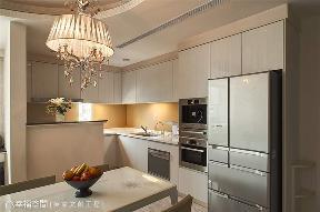 新古典 别墅 法式 收纳 厨房图片来自幸福空间在119平法式浪漫缔造新时代品味的分享