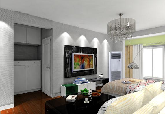 客厅图片来自四川幸福魔方装饰在【峰度天下】现代风格的分享