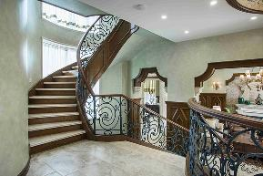 别墅 新古典 沉稳 健康 楼梯图片来自谢辉室内定制设计服务机构在用三年圆一个居住梦的分享
