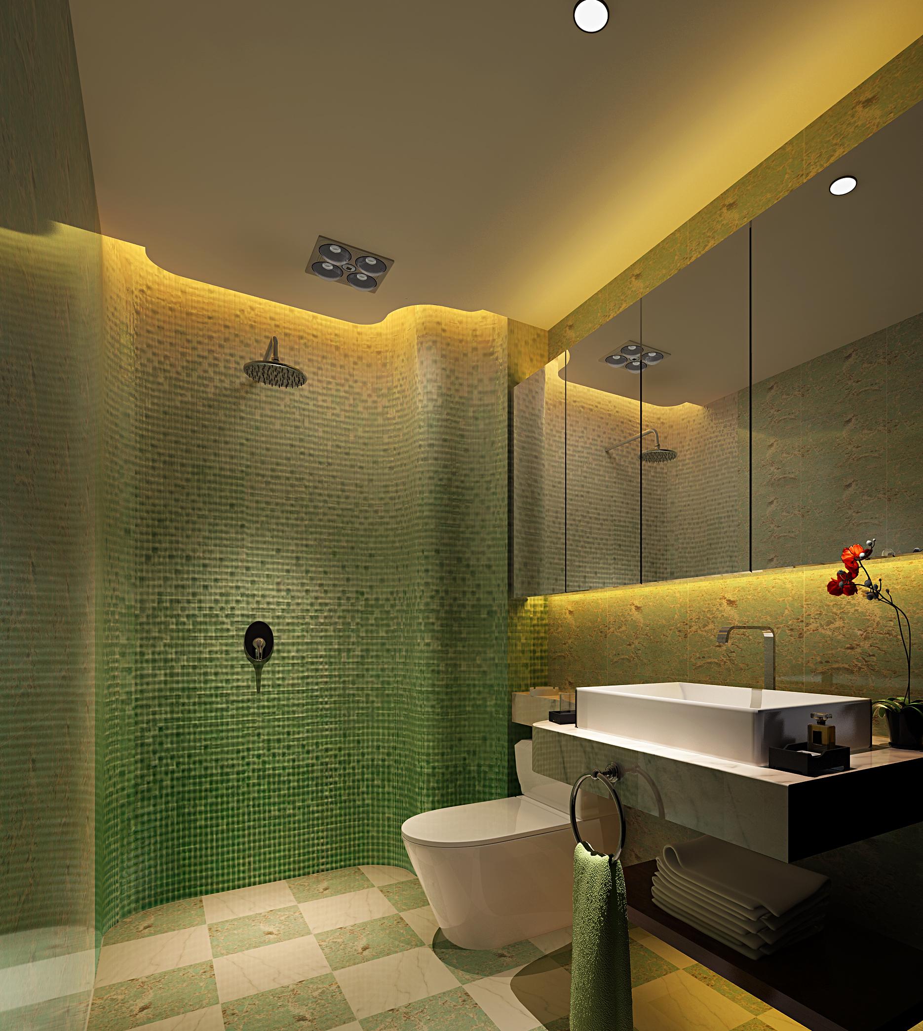 新中式 玉泉 龙苑 卫生间图片来自业之峰太原分公司在玉泉龙苑的分享