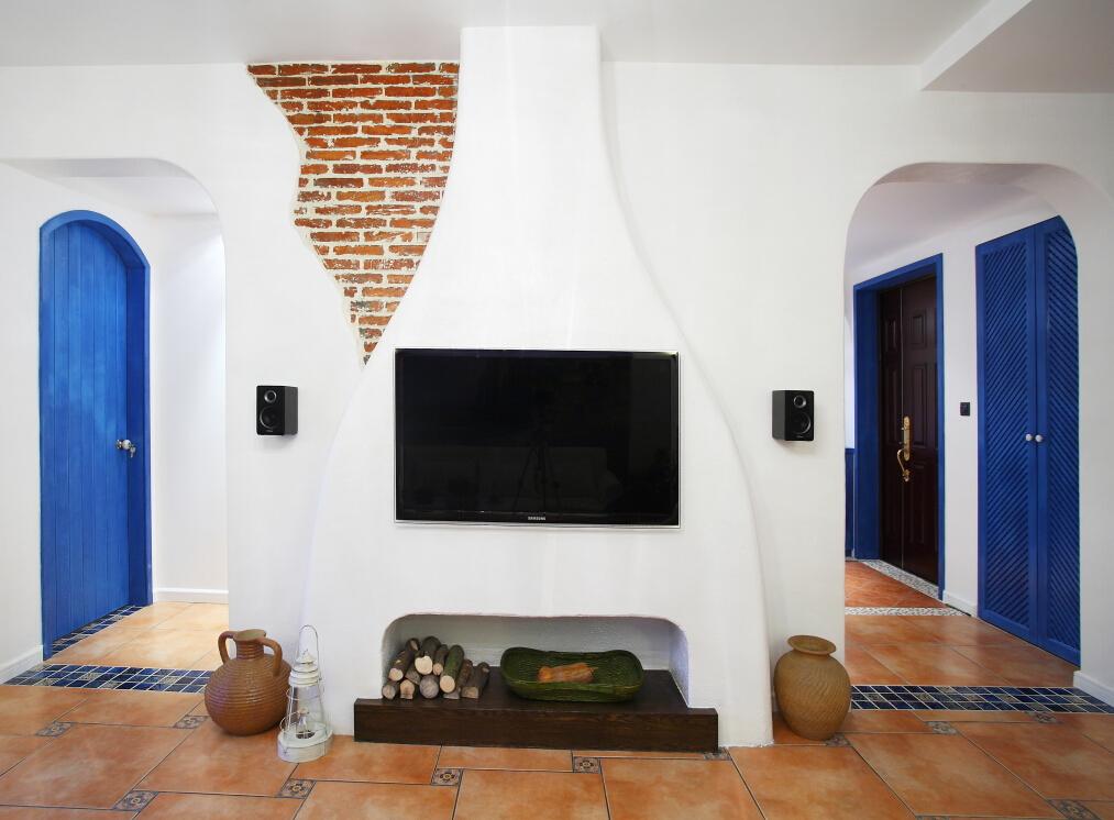 客厅图片来自四川幸福魔方装饰在【置信学府杏林】地中海风格的分享