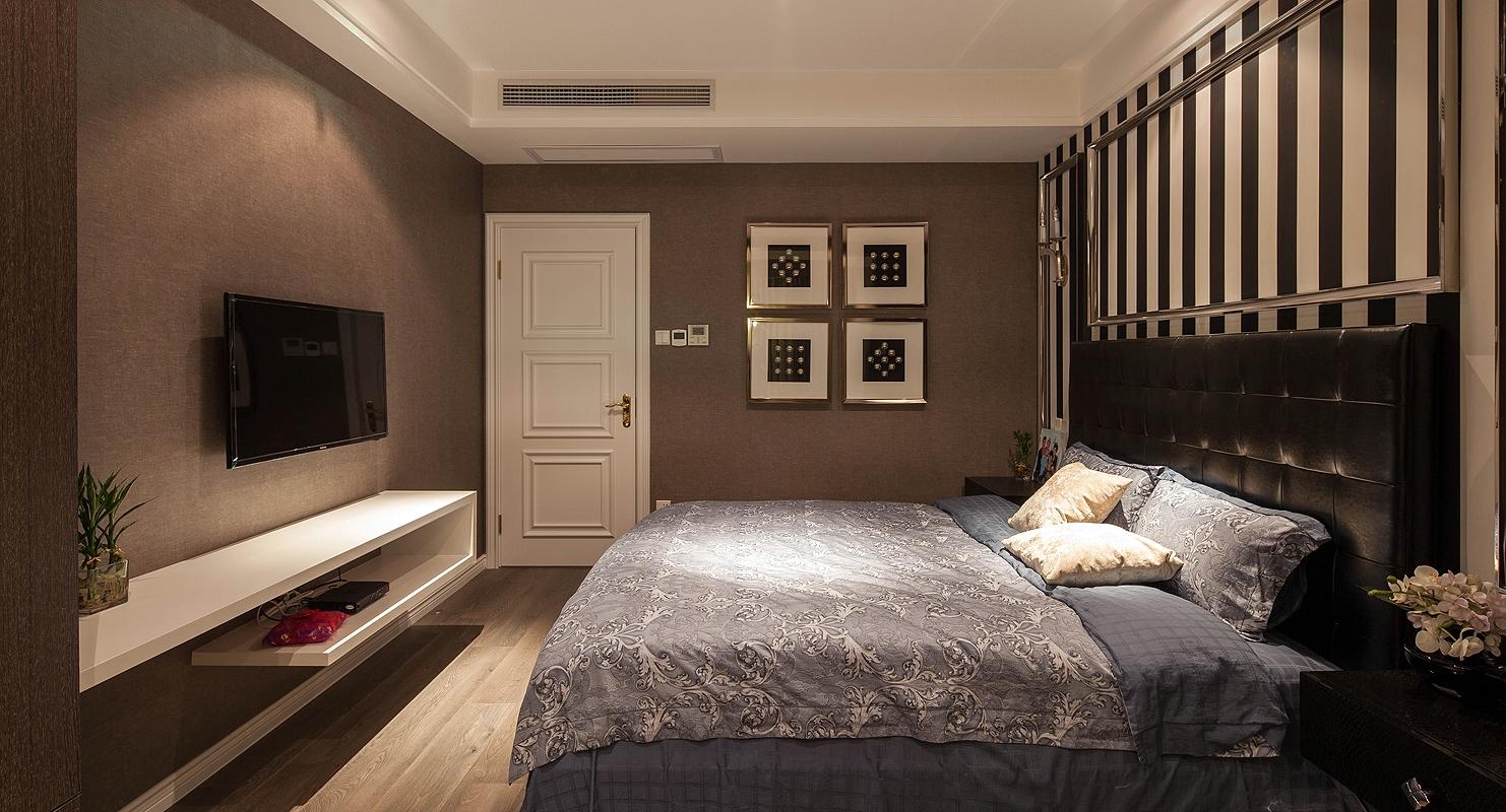 卧室图片来自北京紫禁尚品国际装饰kangshuai在远洋天著别墅177平米的分享