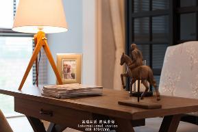 简约 白领 收纳 旧房改造 80后 小资 四居 温馨 舒适 书房图片来自fy1831303388在凯德的分享