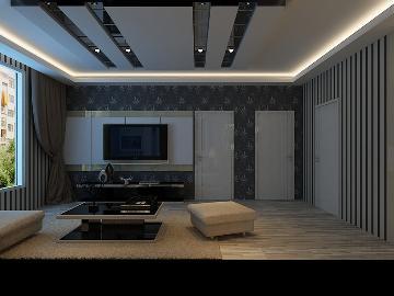 润枫领尚56平米现代风格
