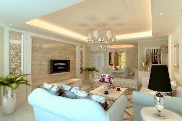200平米四居室简欧风格装修