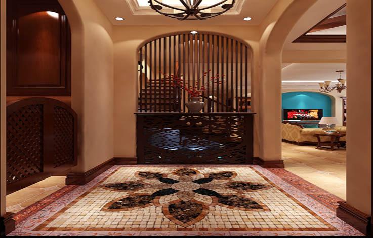 托斯卡纳 装修 设计 别墅 玄关图片来自张邯在高度国际-鲁能七号院8的分享