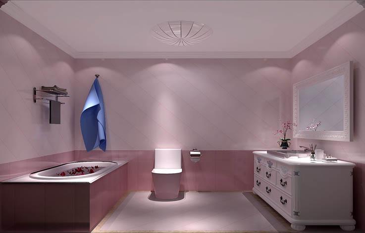 三居 简约 装修 设计 卫生间图片来自张邯在高度国际-濠景阁的分享