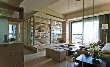 92平三室两厅装修混搭风自然生活