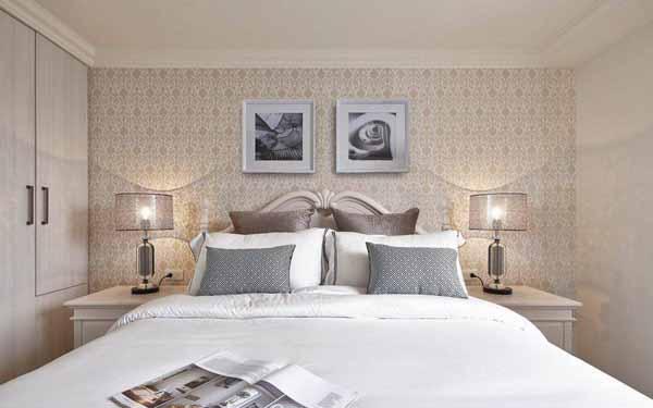 卧室图片来自上海潮心装潢设计有限公司在149平欧式风格复式装修设计样板的分享