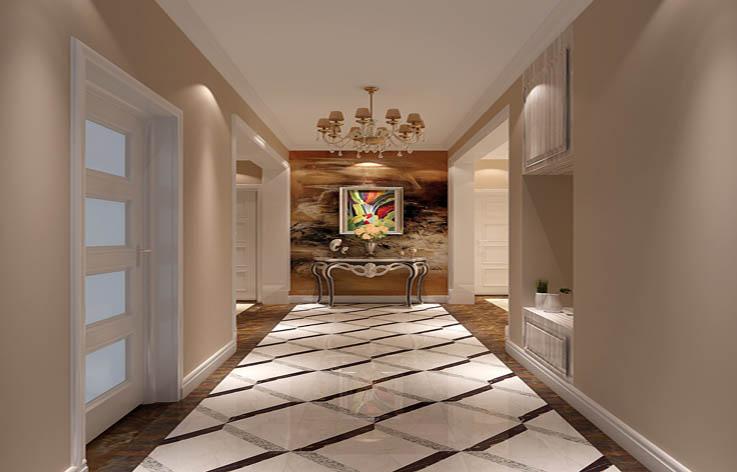 三居 简约 装修 设计 玄关图片来自张邯在高度国际-濠景阁的分享