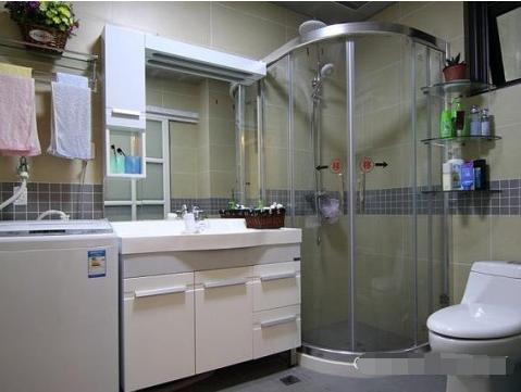 简约 二居 卫生间图片来自西安紫苹果装饰工程有限公司在兴盛家园的分享