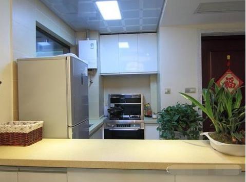 简约 二居 厨房图片来自西安紫苹果装饰工程有限公司在兴盛家园的分享