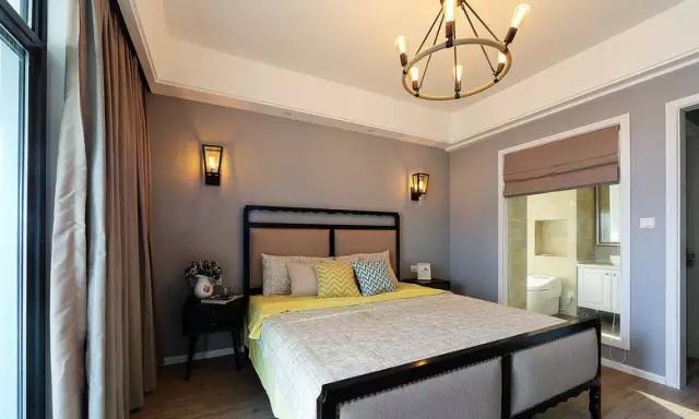 简约 欧式 田园 混搭 二居 三居 别墅 收纳 旧房改造 卧室图片来自实创装饰晶晶在124㎡美式风大两居的分享