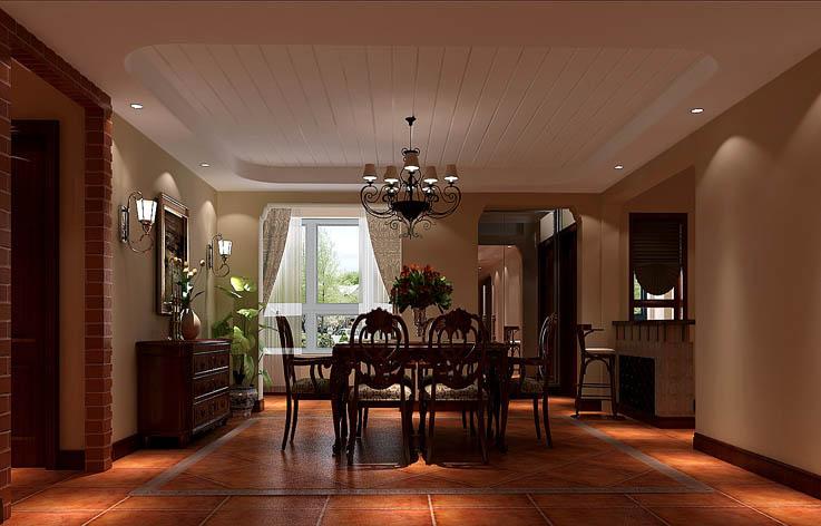 古典 设计 装修 三居 餐厅图片来自张邯在高度国际-金色漫香苑3的分享