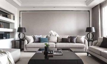 132平混搭风格三室装修设计案例