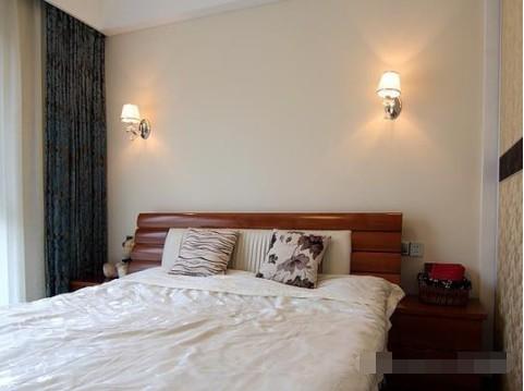 简约 二居 卧室图片来自西安紫苹果装饰工程有限公司在兴盛家园的分享