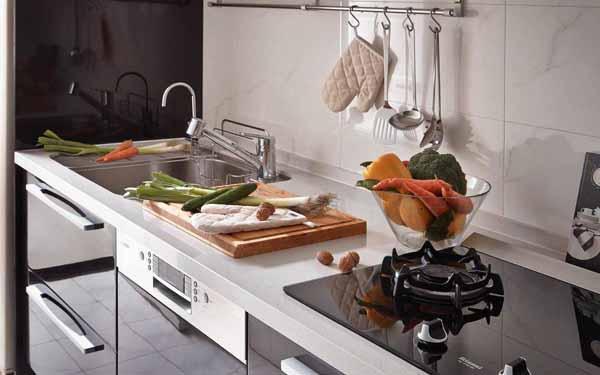 厨房图片来自上海潮心装潢设计有限公司在149平欧式风格复式装修设计样板的分享