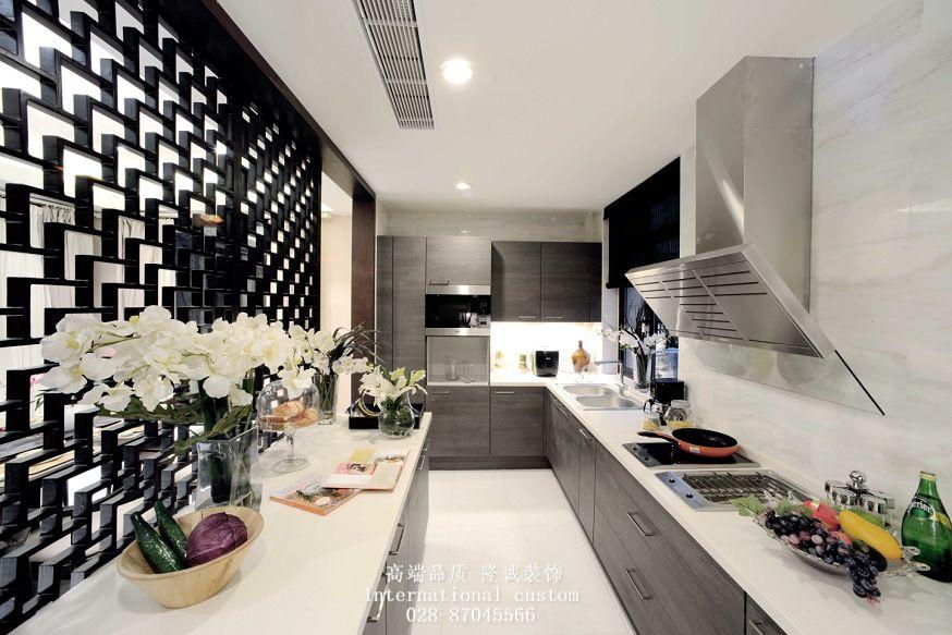 白领 收纳 旧房改造 80后 小资 中式 舒适 温馨 厨房图片来自fy1831303388在西郡英华的分享