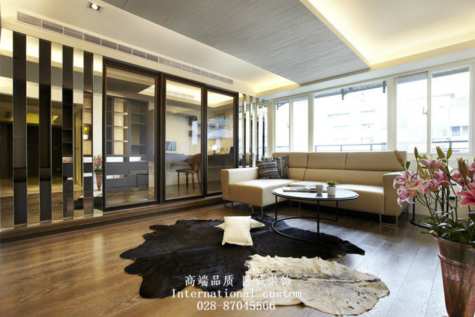 混搭 三居 白领 收纳 旧房改造 80后 小资 舒适 温馨 客厅图片来自fy1831303388在成都后花园的分享