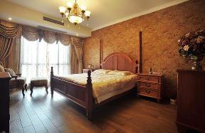 美式 三居 80后 小资 舒适 简单 卧室图片来自武汉全有装饰在福星惠誉福星华府---美式风的分享