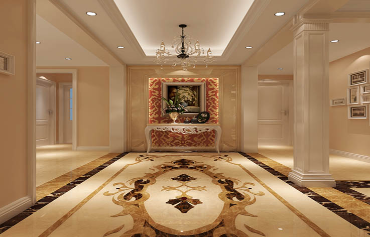 欧式 三居 装修 室内家装 设计 其他图片来自张邯在高度国际-华侨城的分享