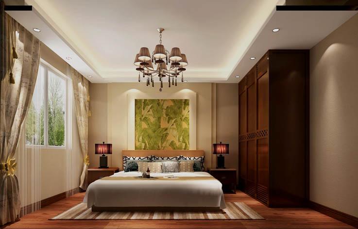 东南亚 装修 设计 室内装修 80后 卧室图片来自张邯在高度国际-潮白河孔雀城7的分享