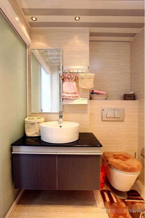 简约 卫生间图片来自西安紫苹果装饰工程有限公司在天下荣郡的分享