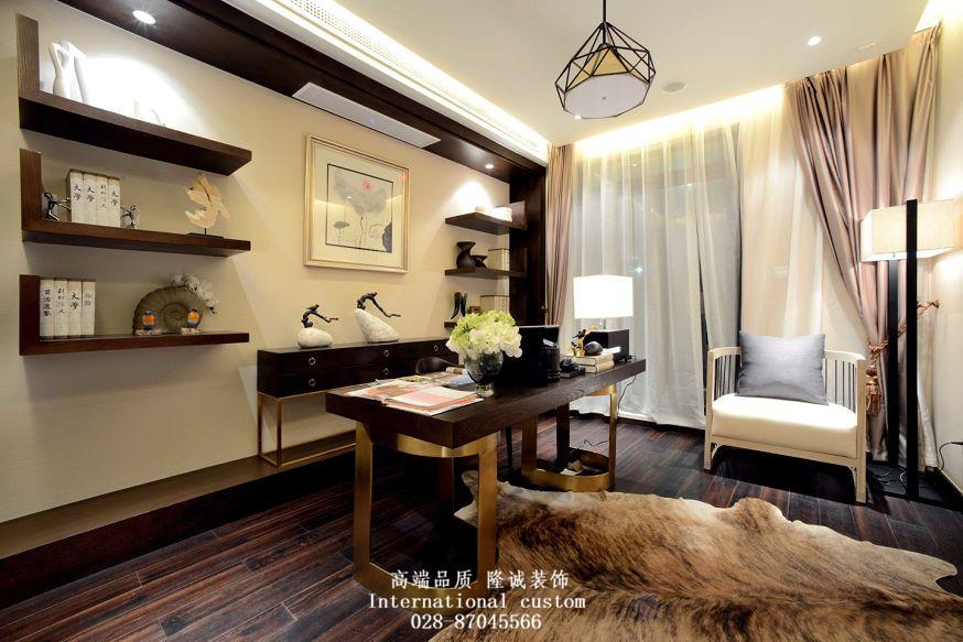 白领 收纳 旧房改造 80后 小资 中式 舒适 温馨 书房图片来自fy1831303388在西郡英华的分享