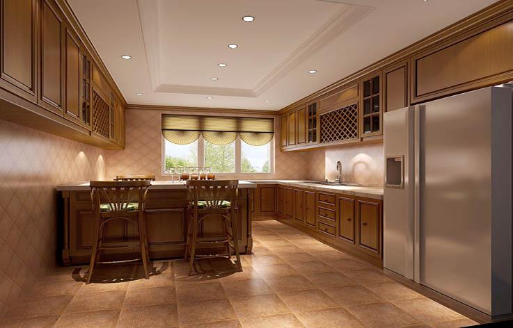 欧式 四居 大平层 装修 设计 厨房图片来自张邯在高度国际-中铁花语城4的分享